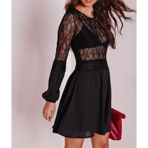Missguided Lace Dress Sz 4